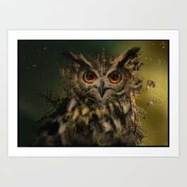 Bird Of the Night Art Print