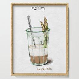 La Cuisine Fusion - Aspargus Latte Serving Tray