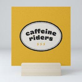 Caffeine Riders Mini Art Print
