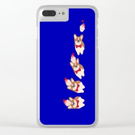 never stop smiling Clear iPhone Case