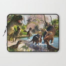 Jurassic dinosaur Laptop Sleeve