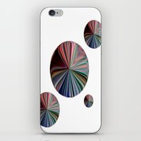circle iPhone & iPod Skins featuring circle by  Agostino Lo Coco