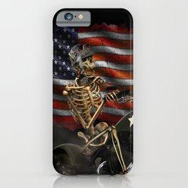 HELL'S BIKER iPhone Case