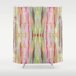 Stride Tie-Dye Shower Curtain