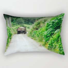Le tracteur (Azores) Rectangular Pillow