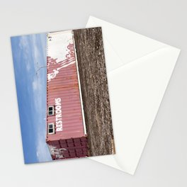 Restrooms Stationery Cards