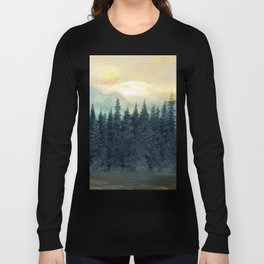 Forest Under the Sunset II Long Sleeve T-shirt