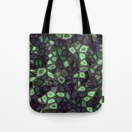 Fractal Gems 04 - Emerald Dreams Tote Bag