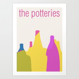 The Potteries Art Print