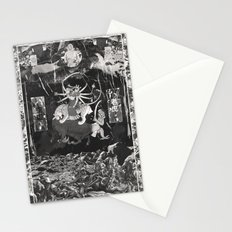 The Void Tigers' Last Smiling Crawl Towards A Long Dead God Stationery Cards