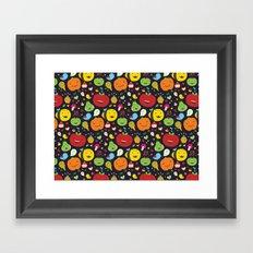 Fruticas pattern Framed Art Print