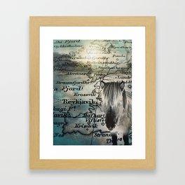 Reykjavík Iceland Framed Art Print