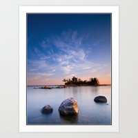 Bear Island morning Art Print