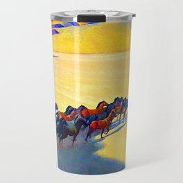 Maynard Dixon Wild Horses Travel Mug