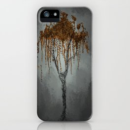 Lonely World iPhone Case