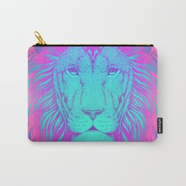 Majestic Soul (Neon Lion) Carry-All Pouch