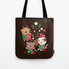Holiday Crew Tote Bag
