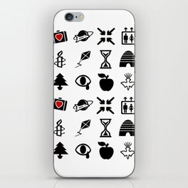u2's all the things you can't leave - symbol iPhone Skin