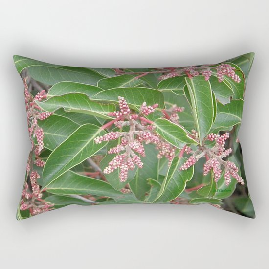TEXTURES - Manzanita in Drought #1 Rectangular Pillow