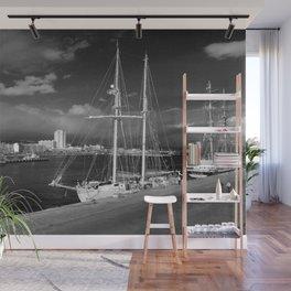 Tall ships Wall Mural