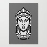 egyptian Canvas Prints featuring Egyptian by AhamSandwich