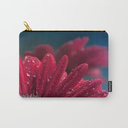 Gerbera Red Jewel Carry-All Pouch