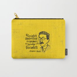 Friedrich Hayek Illustration Carry-All Pouch