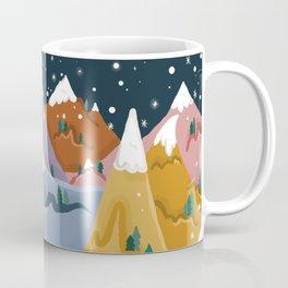 Yeti Mountain Coffee Mug