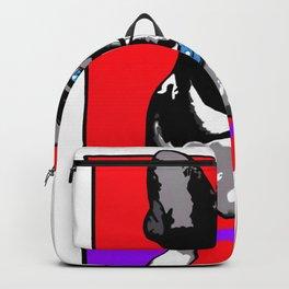 Hipster french bulldog Backpack