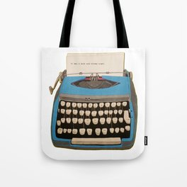 type type type Tote Bag