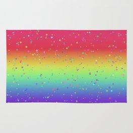 Rainbow Fairy Kei Pattern Rug