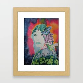 Gaia is Calling Framed Art Print