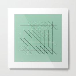 #53 Writings – Geometry Daily Metal Print