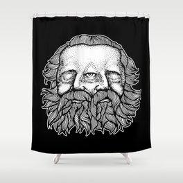 Karabas Barabas Shower Curtain