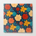 Colorful flower pattern by catyarte