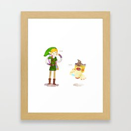 Strange Appearances Framed Art Print