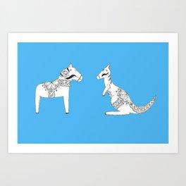 Dalaroo Art Print