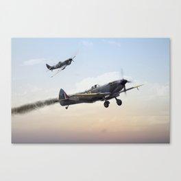 Spitfire - Guardian Angel Canvas Print