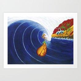 """""""Barrell Ballet"""" Art Print"""