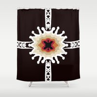 gift card Shower Curtains featuring A Gift for You by barefoot art online