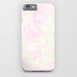 Trendy rose and flack iPhone Case