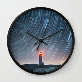 Rotation in the Night Wall Clock