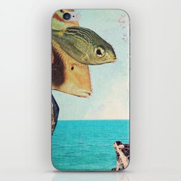 fisher iPhone Skin