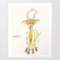Zigbu Art Print