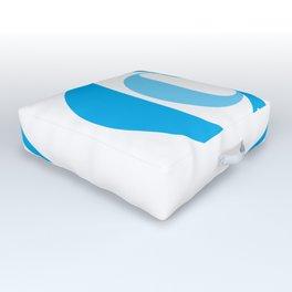 Coco In Blue Outdoor Floor Cushion