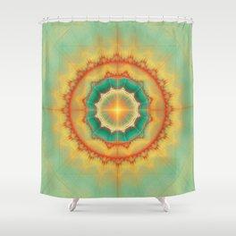 Happyness - Mandala Shower Curtain