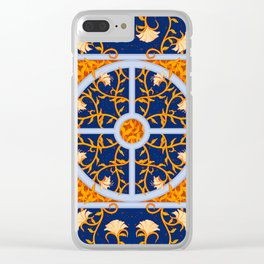 Celestial Vines Clear iPhone Case