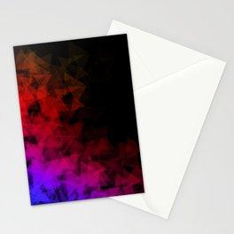 Dark origami Stationery Cards