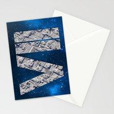 Episode 7 Fan Art Deathstar Logo Stationery Cards