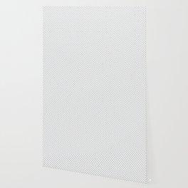 Glacier Gray Polka Dots Wallpaper